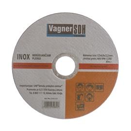 Disks nerūsējošā tērauda griešanai Vagner SDH 125x0,8x22,23mm