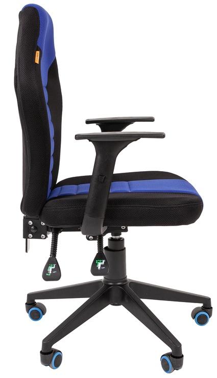 Spēļu krēsls Chairman 8 Black/Blue