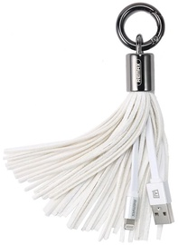 Remax Tassels Ring Data Cable USB To Apple Lightning White