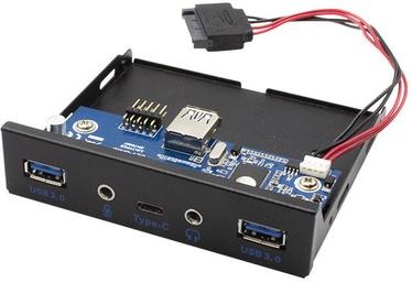 "I-Tec 3.5"" USB-C / USB 3.0 Front Panel w/Audio"