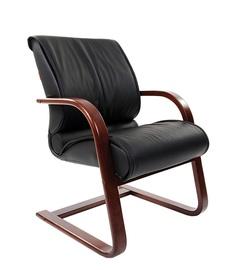 Apmeklētāju krēsls Chairman WD 445 Wood Black