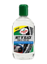 RIEPU GĒLS TURTLE WAX WET BLACK 300ML