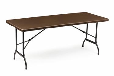 Садовый стол ModernHome Banquet Foldable, коричневый, 180 x 74.5 x 73 см