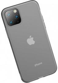 Baseus Jelly Liquid Silica Gel Case For iPhone 11 Transparent/Black