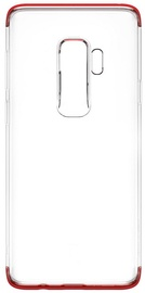 Baseus Transparent Armor Case For Samsung Galaxy S9 Plus Red