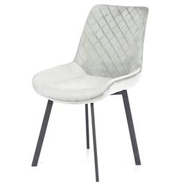 Ēdamistabas krēsls Homede, smilškrāsas, 4 gab.