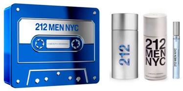 Komplekts vīriešiem Carolina Herrera 212 NYC Men 3pcs Set 260 ml EDT