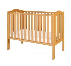 Детская кровать Bellamy Wave Pine, 125x68 см