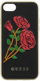 Guess Flower Desire Back Case For Apple iPhone 7/8 Black