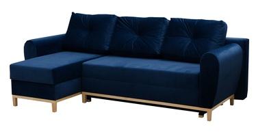 Stūra dīvāns Idzczak Meble Provo Blue, 249 x 143 x 97 cm