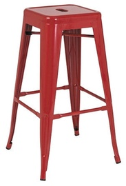 Bāra krēsls Signal Meble Hoker Red, 1 gab.