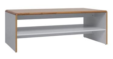 Kafijas galdiņš Black Red White Bari White/Oak, 1135x600x430 mm