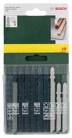 Bosch 2607019461 Jigsaw Blade Set 10pcs