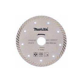 Griešanas asmens Makita Diamond Blade Turbo, 125 mm x 22.23 mm x 2.1 mm