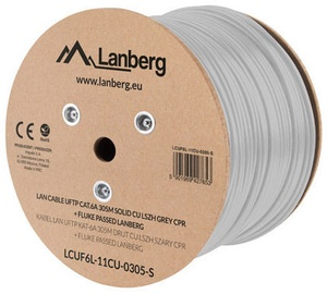 Lanberg Network Cable LCUF6L-11CU-0305-S Grey 305m