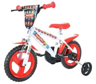 """Velosipēds Bimbo Bike 77327 12"""" White Red"""