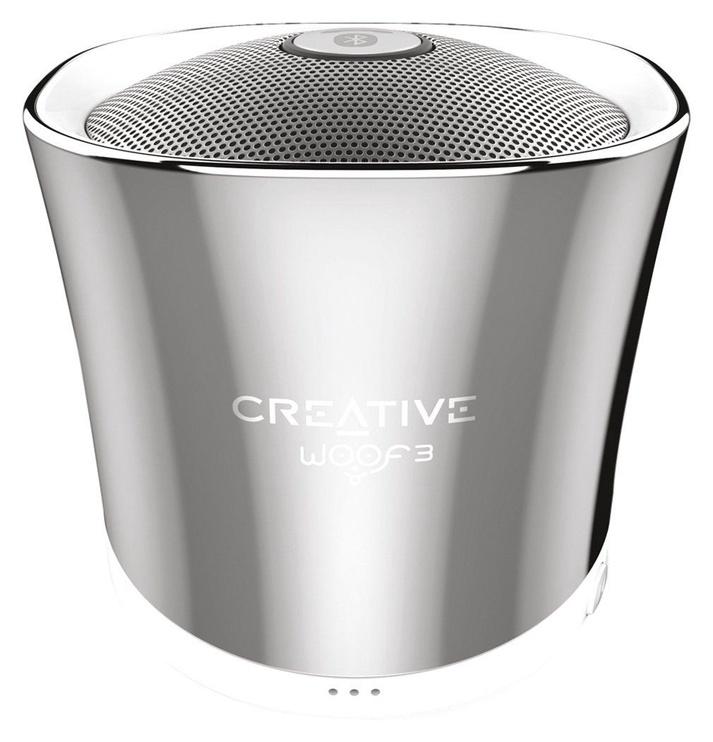 Беспроводной динамик Creative WOOF3 Chrome