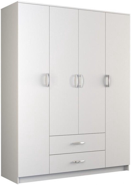 Skapis Top E Shop Romana 160, balta, 160x52x205 cm