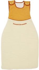 Bērnu guļammaiss Nino Espana, dzeltena, 100 cm