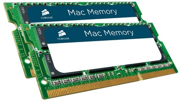 Operatīvā atmiņa (RAM) Corsair Mac Memory CMSA8GX3M2A1333C9 DDR3 (SO-DIMM) 8 GB