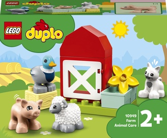 Конструктор LEGO Duplo Уход за животными на ферме 10949