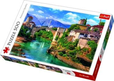 Пазл Trefl Old Bridge In Mostar Bosnia And Herzegovina 37333, 500 шт.