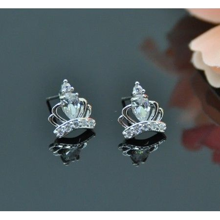 Vincento Earrings With Zirconium Crystal LE-1284