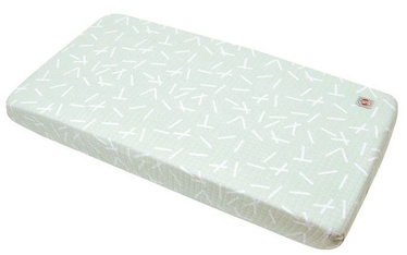 Lodger Fitted Baby Sheet Slumber Print Leaf Hydrofiel 70x140