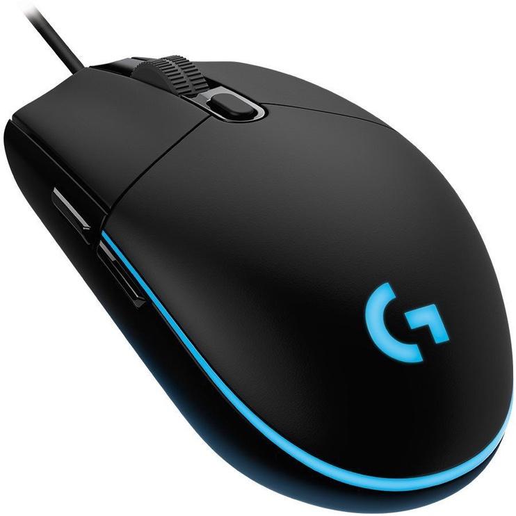 Spēļu pele Logitech G102 Lightsync, melna