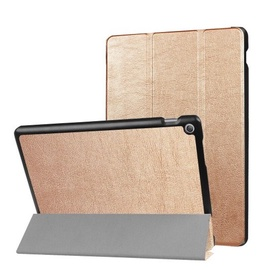 TakeMe Eco-leather Book Case With Stand For Tablet PC Lenovo Tab 7 Essential Gold