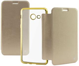 Ksix Folio Case For Samsung Galaxy J7 J730 Gold