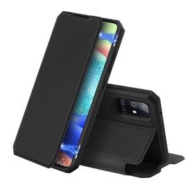 Dux Ducis Skin X Bookcase For Samsung Galaxy A71 5G Black