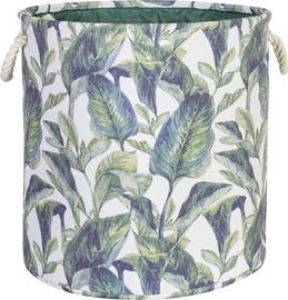 Home4you Tropic 2 Basket D35xH35cm Tropic Leaves 83592
