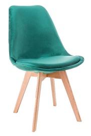 Ēdamistabas krēsls Signal Meble Dior Green, 1 gab.