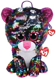 TY Fashion Plush Sequin Backpack Dotty Leopard
