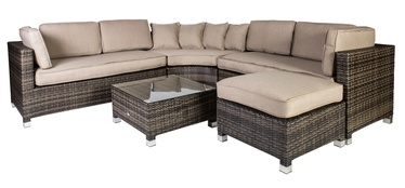 Āra mēbeļu komplekts Home4you Dawson 12800 Dark Brown