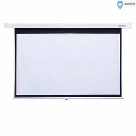 4World Wall Projector Screen 221x124cm Matt White