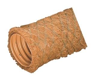 Gofrēta drenāžas caurule ar kokosa šķiedru filtru Wavin Ø 80/92 mm 50m