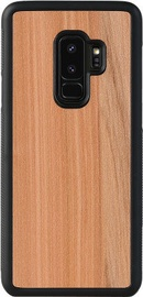 Man&Wood Cappuccino Back Case For Samsung Galaxy S9 Plus Black/Brown