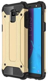 Hurtel Hybrid Armor Back Case For Samsung Galaxy J6 J600 Gold