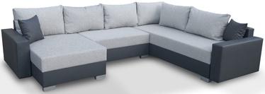 Stūra dīvāns Platan Gustaw 03 Light Grey, 315 x 135 x 87 cm