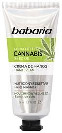 Крем для рук Babaria Cannabis, 50 мл
