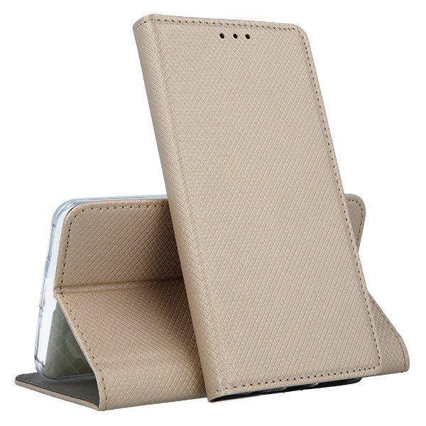 Mocco Smart Magnet Book Case For Samsung Galaxy J4 Plus J415 Gold