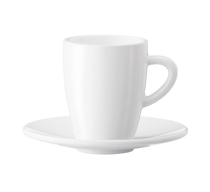 Jura Espresso Cups 2 x 90ml White
