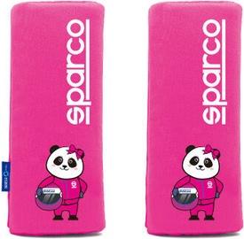Sparco Mini Shoulder Pads Pink 2pcs