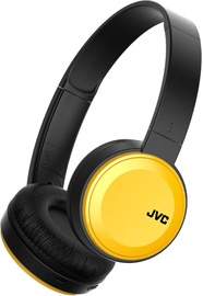 Austiņas JVC HA-S30BT Yellow, bezvadu
