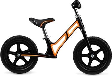 "Līdzsvara velosipēds Momi MOOV ROBI00014, melna/oranža, 10"""