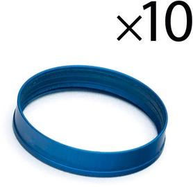 EK Water Blocks EK-Torque HTC 12 Color Rings Pack Blue 10pcs