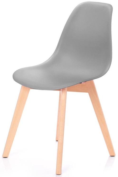 Ēdamistabas krēsls Homede Mirano Dark Grey, 4 gab.