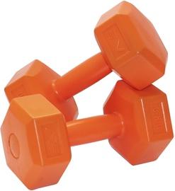 Hantele SportVida GYM & Fitness Comfort Dumbbell Set 2x3kg Orange